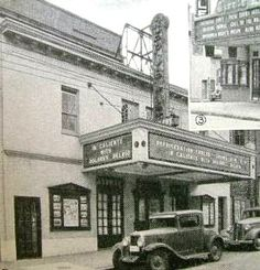 The Republic Theatre on Main St in Annapolis, MD circa 1935 (marquee says Caliente with Delores Del Rio... it was released in 1935)... It was later known as the Playhouse Theatre...
