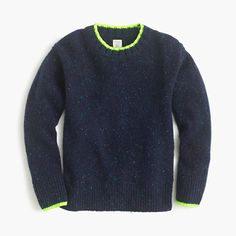 A supercomfy sweater in Donegal wool (famously cozy wool from Ireland) that perfectly matches other pieces in our collection: a scarf, beanie and gloves! <ul><li>Italian wool.</li><li>Hand wash.</li><li>Import.</li></ul>