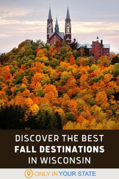 Add these beautiful destinations in Wisconsin to your fall travel bucket list! Take a scenic day trip and enjoy nature at state parks, forests, arboretums, and more. Enjoy a relaxing hike at any of these places. A picnic is another fun thing to do! The foliage is fantastic so be sure to bring your camera. There will be plenty of photo opportunities. Fall Pics, Fall Pictures, South Milwaukee, Virtual Travel, Grant Park, Madison Wisconsin, State Forest, Camping Chairs, Making Memories