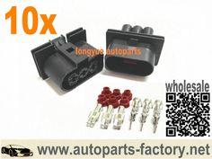 longyue 3 way pin oem fuse box connector plug 1j0 937 773 case longyue 10pcs radiator fan connector plugs w wiring 1j0 906 233 audi vw jetta golf