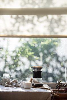 Cold brew affogato, for Verily Magazine. - Two Red Bowls Coffee Break, I Love Coffee, Coffee Art, My Coffee, Coffee Drinks, Morning Coffee, Coffee Shop, Coffee Cups, Chemex Coffee