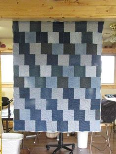 Quilting In The BunkHouse: Denim