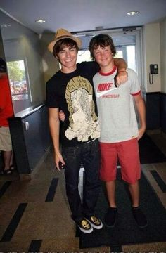 Zac and his brother Dylan