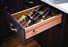 Spice Tray, Drawer Insert - in the Häfele America Shop #Spice_Drawer_Organizer