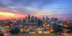 8.) Kansas City Skyline