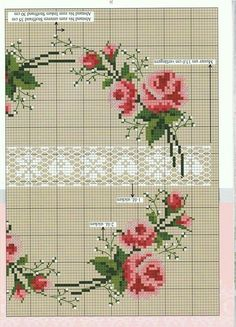 This Pin was discovered by Юля Cross Stitch Cushion, Small Cross Stitch, Butterfly Cross Stitch, Beaded Cross Stitch, Cross Stitch Rose, Cross Stitch Borders, Cross Stitch Flowers, Cross Stitch Designs, Cross Stitching