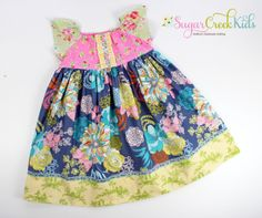 Precious Little Girls Easter Spring Dress from Sugar Creek Kids