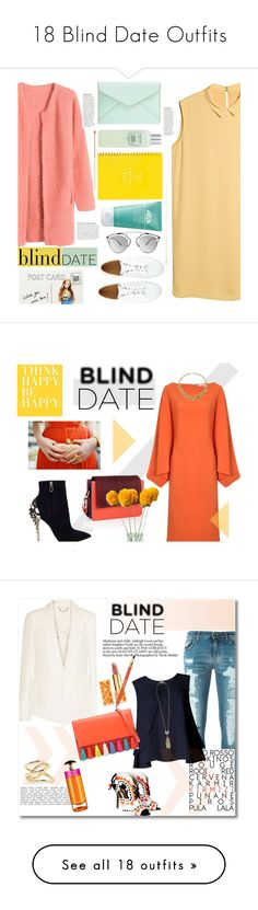 """18 Blind Date Outfits"" by polyvore-editorial ❤ liked on Polyvore featuring waystowear, blinddate, MANGO, A.P.C., Rebecca Minkoff, Laura Mercier, Origins, Christian Dior, Chicnova Fashion and Club Monaco"