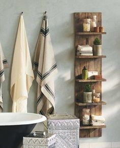 Can use timber from around the farm to build this for the bathroom.(Diy Projects For The Home)