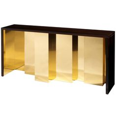 Vibration Console Table | From a unique collection of antique and modern console tables at https://www.1stdibs.com/furniture/tables/console-tables/