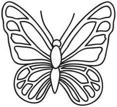 Resultado de imagen para dibujos decorativos Butterfly Mosaic, Butterfly Stencil, Butterfly Quilt, Butterfly Drawing, Butterfly Template, Butterfly Pattern, Crown Template, Butterfly Mobile, Heart Template