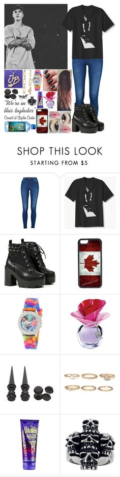 """""""Sin título #1178"""" by gisella-jb-pintos ❤ liked on Polyvore featuring Justin Bieber, CellPowerCases, Forever 21 and Topman"""