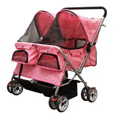 YOOKI Double Pet Stroller * Read more details by clicking on the image. #DogCarriers