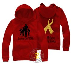 Semper Sweet - Support Our Troops Hooded Sweatshirt, $42.99 (http://sempersweet.com/support-our-troops-hooded-sweatshirt/)