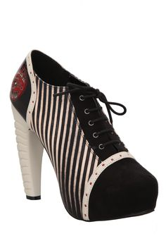 Too Fast Freakshow Platform Bootie | Hot Topic