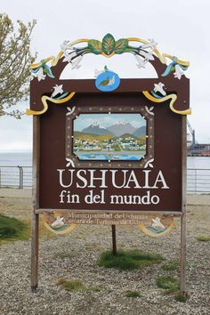 Argentina - Ushuaia - Fin del mundo, End of the World