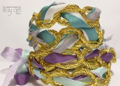 Easy Silk Chain Bracelets