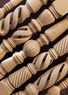 faesztergalas.hu egyedi faesztergalyos munkak B Wood Turning Projects, Wood Projects, Art Sculpture En Bois, Window Glass Design, Dinning Table Design, Wood Chair Design, Wood Furniture Legs, Wood Stairs, Wood Carving Art