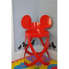 Cappellini Mickey's Low Ribbon Limited Edition Kid's Accent Stool - need to figure out how to make this!