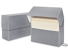 Archival Document Cases, this could be decorative and functional for things I want to save!