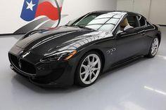 2014 Maserati Gran Turismo 2014 MASERATI GRANTURISMO SPORT NAV HTD SEATS 20'S 20K #075597 Texas Direct Auto