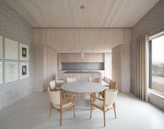 JOHN PAWSON The Life House. The design of the house, which sleeps six people, is based upon the concept of a retreat where serenity, contemplation and restoration are foremost; a place where a week-long retreat will immerse the visitor in a zone of extreme calm and leaving them r...