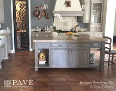 Pavé Tile, Wood & Stone, Inc. > European Terra Cotta Tile Flooring: St. Tropez French Terra Cotta Tile Flooring™