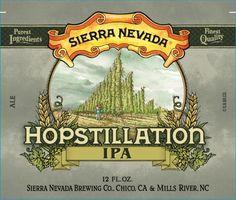 Sierra Nevada Hopstillation IPA, a Bottle Potential