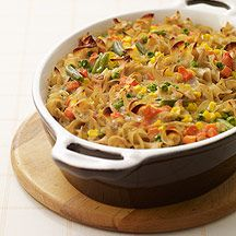 WW Tuna noodle casserole.  Made this for lunch.  It was YUMMY!  8 Servings, 7 pts per serving.