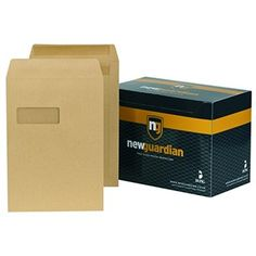 New Gaurdian Self-Seal Manilla Envelopes - Envelopes Envelopes, Seal, Office Supplies, Harbor Seal