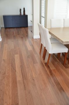 Timber flooring - Brushbox