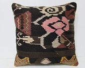 couch pillow cover 18x18 outdoor decor decorative kilim pillow indie pillow cover chair cushion cover throw pillow couch rustic fabric 24944