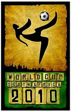 A great poster from the 2010 FIFA World Cup soccer championship in South Africa! Ships fast. 11x17 inches.