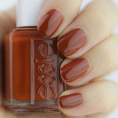essie fall 2016, essie fall 2016 review, essie fall swatches, playing koi, orange nails