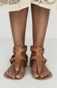 TALI - Tulip shaped sandals
