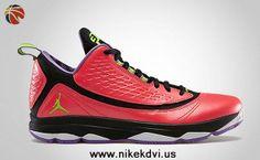 Cheap Bright Crimson Electric Green-Black-Violet Pop 580580-609 Jordan CP3.VI AE For Sale