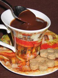 Vegagyerek: Tejmentes forró csoki (vegán) Chocolate Fondue, Paleo, Food And Drink, Vegetarian, Homemade, Vegan, Drinks, Desserts, Minden