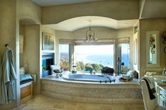 Bathrooms With Fireplace