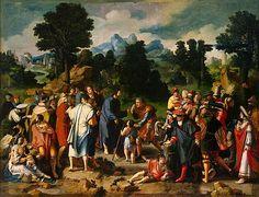 Curación del ciego de Jericó, 1531.