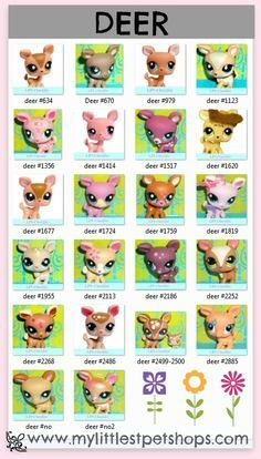 Most Valuable & Rare Littlest Pet Shop Pets List | Littlest Pet ...