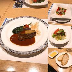 メインは肉とフォアグラ とても美味しかったです
