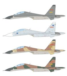 Caracal Models CD72041 - Sukhoi Su-30MK/MKK Fighter Aircraft, Fighter Jets, Sukhoi Su 30, People's Liberation Army, Caracal, Defence Force, Air Force, Screen Printing, Vietnam