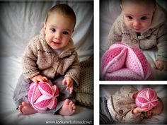 This crochet Amish inspired puzzle ball is a great learning toy for both you and your child! Try it in our new yarn, Modern Baby.  Pattern by Look What I Made.