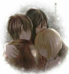 Mikasa Eren Armin