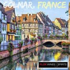 The charming French town of Colmar is renowned for its well preserved old town, architectural landmarks and colourful traditional French houses. Its climate also makes it an ideal location to make wine!