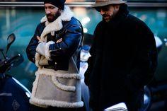 Le 21ème | After Giorgio Armani | Milan. 19 JAN 2016.  WHO: Men, Unknown, Miguel Arnau. WHAT: Unknown. WHERE: Milan, Italy. WHEN: Milan Men's Fashion Week, Fall/Winter 2016/2017, Fall/Winter 2016/2017.