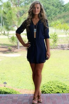 Lavish Boutique - The Madison Dress: Navy, $43.00 (http://lavishboutique.com/the-madison-dress-navy/)