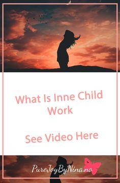 What Is Inner Child Work  #innerchild #innerchildwork #whatisinnerchildwork #purejoybynina #trauma Self Development, Personal Development, Generalized Anxiety Disorder, Stop Worrying, Highly Sensitive, Self Healing, Working With Children, Inner Child, Negative Thoughts