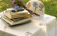 Picture of Botanical Tablecloth Square