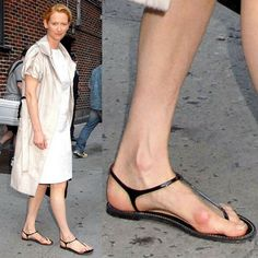 To provide some comfort in knowing you're not alone in your quest for beautiful shoes, which conceal and comfort your bunions, take a look at the feet of these gorgeous famous women from around the world who are in exactly the same predicament as you. Pretty Shoes, Beautiful Shoes, Chrissy Teigen Model, Iman Model, Bunion Shoes, Derby, Nintendo Console, Victoria Beckham Style, Tilda Swinton